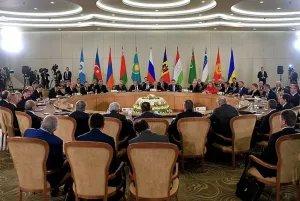 В Сочи состоялось очередное заседание Совета глав государств СНГ