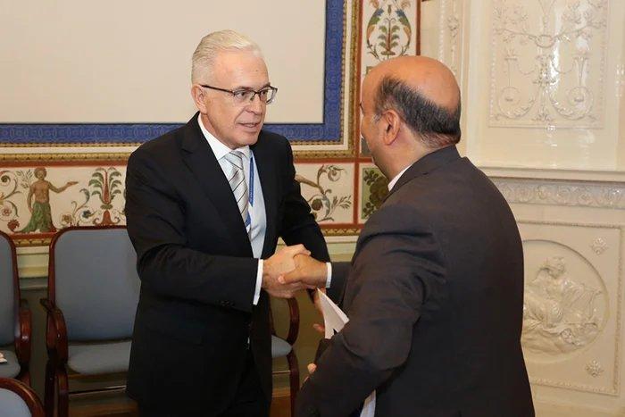 Алексей Сергеев встретился с генеральным секретарем Азиатской парламентской ассамблеи