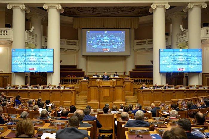 Всероссийский форум «Система распределенных ситуационных центров как основа цифровой трансформации государственного управления» проходит в Таврическом дворце