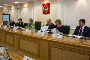 Валентина Матвиенко провела первое заседание оргкомитета второго Евразийского женского форума