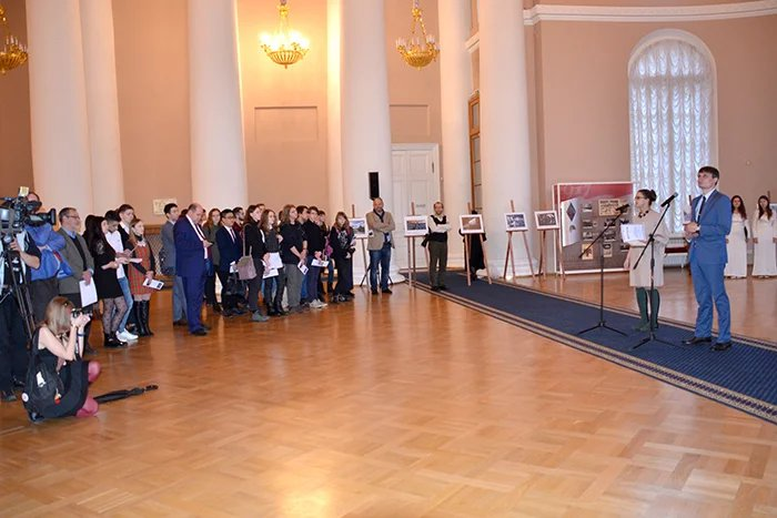 В Таврическом дворце в Международный день толерантности открылась студенческая фотовыставка