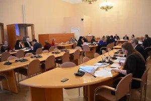 В Таврическом дворце прошло заседание Постоянной комиссии МПА СНГ по социальной политике и правам человека