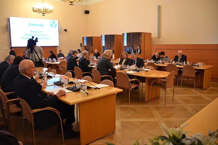 Основные положения и преимущества Марракешского и Пекинского договоров обсудили в штаб-квартире МПА СНГ