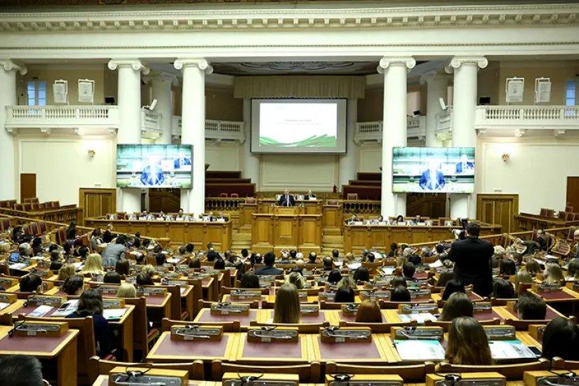 В штаб-квартире МПА СНГ проходит IV международная конференция «Евразийский вызов»