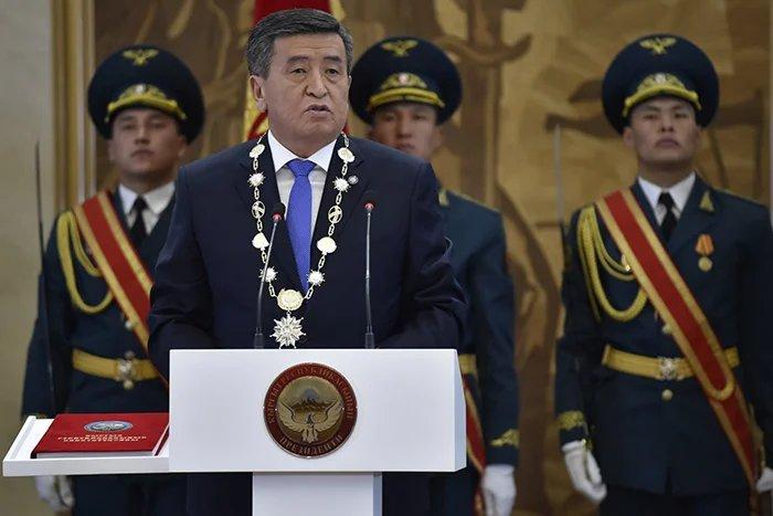 Дастанбек Джумабеков принял участие в церемонии инаугурации Президента Кыргызской Республики
