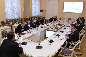Международное сотрудничество обсудили в штаб-квартире МПА СНГ