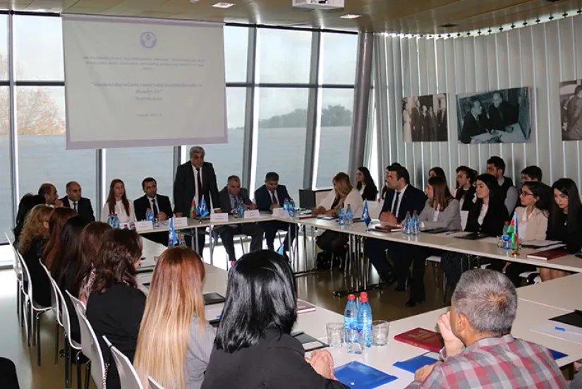Семинар «Роль и значение традиционных ценностей в жизни общества» прошел в Баку