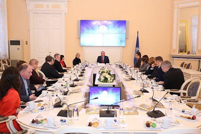 Сергей Антуфьев встретился с представителями средств массовой информации Санкт-Петербурга и Москвы
