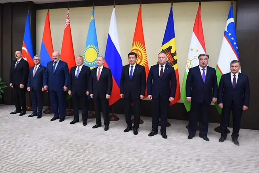 В Ново-Огарёво состоялась неформальная встреча глав государств - участников СНГ