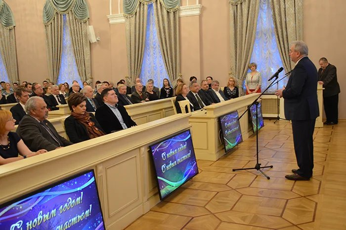 В Секретариате Совета МПА СНГ торжественно подвели итоги 2017 года
