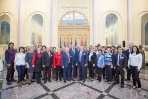 Международный профсоюзный форум молодых связистов стран СНГ открылся в Таврическом дворце