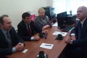 Ибод Рахимов посетил территориальную избирательную комиссию Всеволожского муниципального района