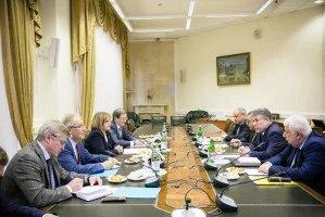 Координатор группы наблюдателей от МПА СНГ Зияфат Аскеров встретился с Председателем ЦИК Российской Федерации Эллой Памфиловой