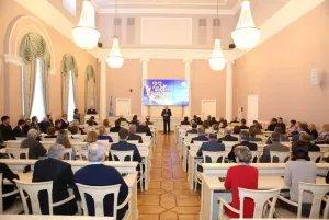 Сотрудников Секретариата Совета МПА СНГ поздравили с Днем защитника Отечества