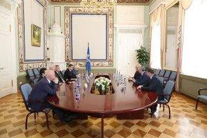 В Таврическом дворце прошла встреча международных наблюдателей от МПА СНГ с членом ЦИК РФ Сиябшахом Шапиевым