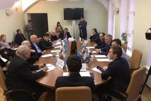 Дмитрий Гладей принял участие в круглом столе, организованном Общественной палатой Санкт-Петербурга
