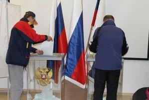 Проходит голосование на выборах Президента Российской Федерации на зарубежных избирательных участках