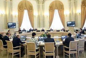 Совместное заседание Совета постпредов и Комиссии по экономическим вопросам при Экономическом совете СНГ прошло в режиме видеоконференции