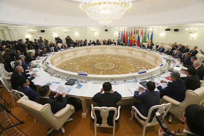Заседание Совета министров иностранных дел СНГ прошло в Минске