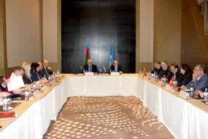 В Баку состоялось организационное совещание группы международных наблюдателей от МПА СНГ