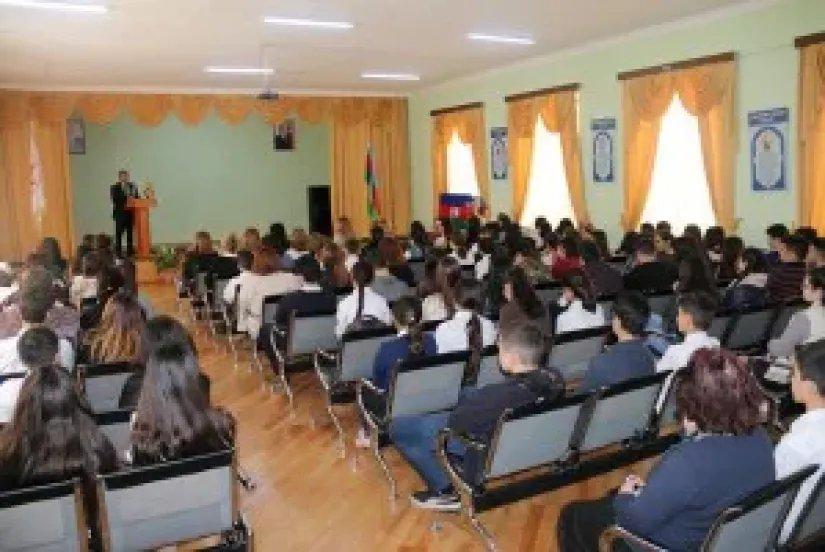 Бакинский филиал МИМРД МПА СНГ дал старт проведению конкурса сочинений на тему «Гейдар Алиев и независимый Азербайджан»