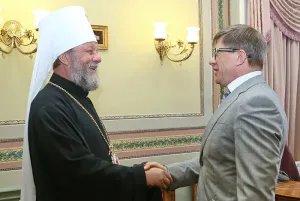 Генеральный секретарь Совета МПА СНГ встретился с митрополитом Кишиневским и всея Молдовы