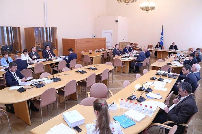 Заседание Постоянной комиссии МПА СНГ по изучению опыта государственного строительства и местного самоуправления прошло в Таврическом дворце