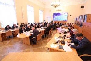 Круглый стол для международных наблюдателей по вопросам мониторинга выборов Президента Российской Федерации прошел в Таврическом дворце
