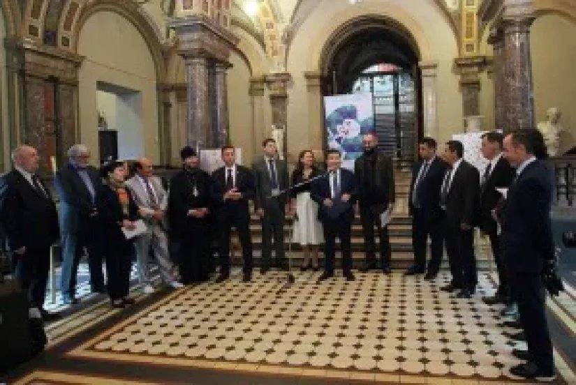 В Таврическом дворце откроется выставка-конкурс, посвященная празднованию 90-летия Чингиза Айтматова