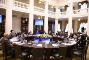 Заседание Постоянной комиссии МПА СНГ по социальной политике и правам человека прошло в Таврическом дворце