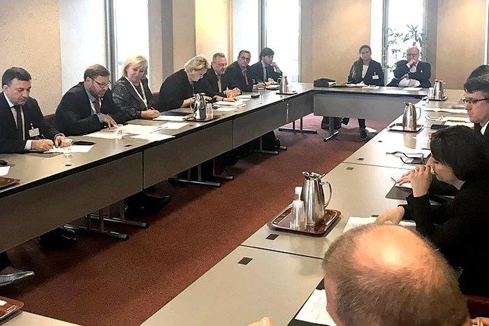 Юбилейное заседание геополитической группы «Евразия» состоялось на полях 139-й Ассамблеи МПС