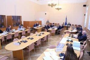 Вопросы модельного законотворчества в сфере государственного строительства и местного самоуправления обсудили в штаб-квартире МПА СНГ