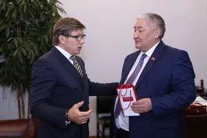 Юрий Осипов встретился с Максатом Сабировым