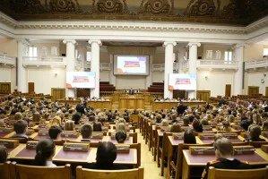 Самые активные школьники Петербурга собрались в Таврическом дворце