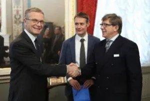 Юрий Осипов встретился с главой Региональной делегации МККК в Российской Федерации, Беларуси и Молдове Магне Бартом