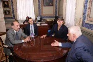 В Таврическом дворце состоялась встреча Генерального секретаря Совета МПА СНГ с Министром культуры Азербайджанской Республики