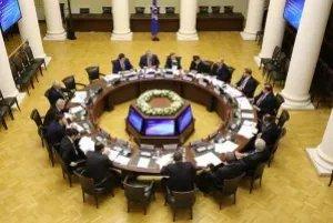 Заседание Постоянной комиссии МПА СНГ по политическим вопросам и международному сотрудничеству прошло в штаб-квартире МПА СНГ