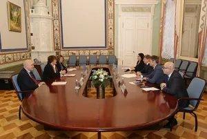 Юрий Осипов встретился с директором Европейского регионального бюро Всемирной организации здравоохранения Жужанной Якаб