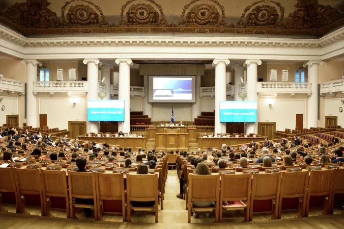 Актуальные проблемы парламентаризма вновь обсуждают в Таврическом дворце