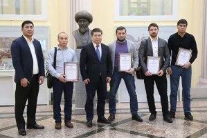 Таврический дворец посетила делегация спортсменов по смешанным боевым единоборствам