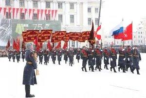 Делегация МПА СНГ посетила военный парад, посвященный 75-й годовщине полного освобождения Ленинграда от фашистской блокады
