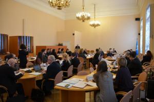 Первое заседание Экспертного совета по экономике при МПА СНГ прошло в Таврическом дворце