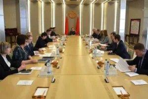 В Минске прошло заседание белорусской части оргкомитета Форума регионов Беларуси и России