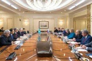 Валентина Матвиенко и Касым-Жомарт Токаев обсудили перспективы межпарламентского сотрудничества в рамках МПА СНГ