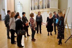 Участники театрального фестиваля стран СНГ и Балтии «Встречи в России» посетили Таврический дворец