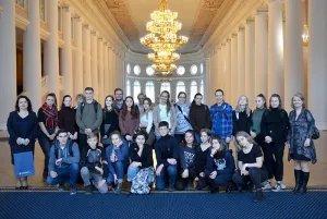 Школьники из Гамбурга и Санкт-Петербурга ознакомились с профессиями, востребованными в Секретариате Совета МПА СНГ