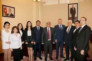 Дмитрий Кобицкий посетил Бакинский филиал МИМРД МПА СНГ