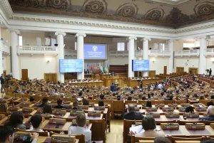 В Таврическом дворце прошло сорок девятое пленарное заседание Межпарламентской Ассамблеи СНГ