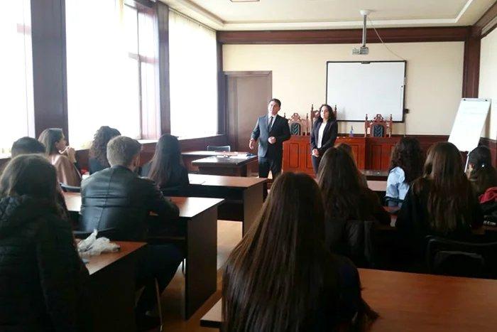 Бакинский филиал МИМРД МПА СНГ провел презентацию викторины по вопросам избирательного права