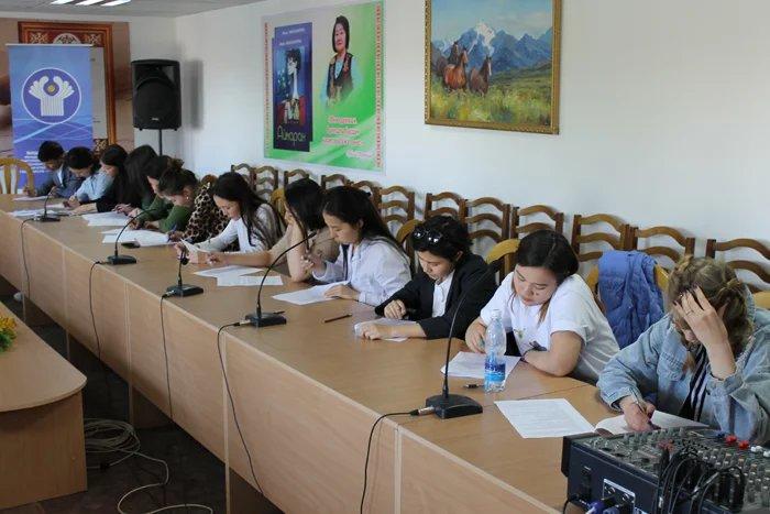 В Бишкеке прошла студенческая викторина по вопросам избирательного права